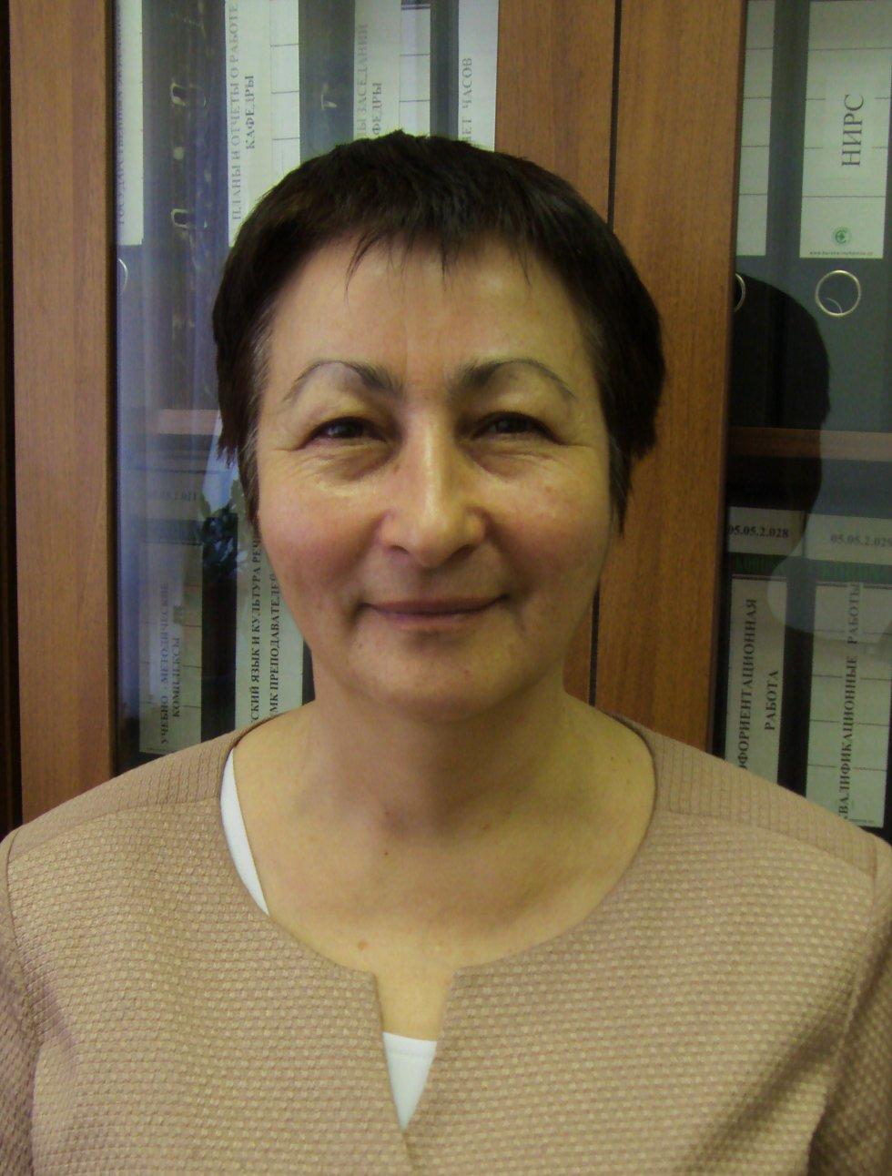 Фаттахова Наиля Нурыйхановна